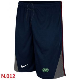 Wholesale Cheap Nike NFL New York Jets Classic Shorts Dark Blue