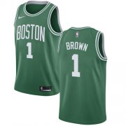 Wholesale Cheap Nike Boston Celtics #1 Walter Brown Green NBA Swingman Icon Edition Jersey