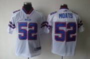 Wholesale Cheap Bills #52 Arthur Moats White 2011 New Style Stitched NFL Jersey