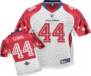 Wholesale Cheap Colts #44 Dallas Clark Red 2010 Pro Bowl Stitched NFL Jersey