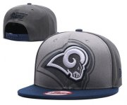 Wholesale Cheap NFL Los Angeles Rams Stitched Snapback Hats 047