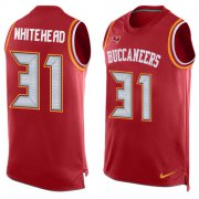 Wholesale Cheap Nike Buccaneers #31 Jordan Whitehead Red Team Color Men's Stitched NFL Limited Tank Top Jersey
