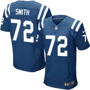 Wholesale Cheap Nike Colts #72 Braden Smith Royal Blue Team Color Men's Stitched NFL Elite Jersey