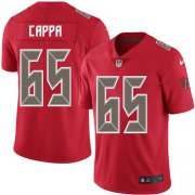 Wholesale Cheap Nike Buccaneers #65 Alex Cappa Red Men's Stitched NFL Limited Rush Jersey