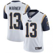 Wholesale Cheap Nike Rams #13 Kurt Warner White Youth Stitched NFL Vapor Untouchable Limited Jersey