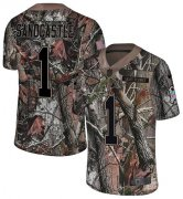 Wholesale Cheap Nike Chiefs #1 Leon Sandcastle Camo Men's Stitched NFL Limited Rush Realtree Jersey