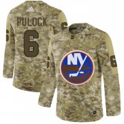 Wholesale Cheap Adidas Islanders #6 Ryan Pulock Camo Authentic Stitched NHL Jersey