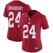 Wholesale Cheap Nike Giants #24 James Bradberry Red Alternate Women's Stitched NFL Vapor Untouchable Limited Jersey