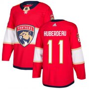 Wholesale Cheap Adidas Panthers #11 Jonathan Huberdeau Red Home Authentic Stitched Youth NHL Jersey