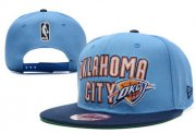 Wholesale Cheap NBA Oklahoma City Thunder Snapback Ajustable Cap Hat XDF 006