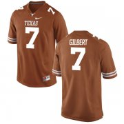 Wholesale Cheap Men's Texas Longhorns 7 Garrett Gilbert Orange Nike College Jersey