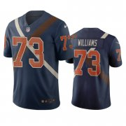 Wholesale Cheap Cincinnati Bengals #73 Jonah Williams Navy Vapor Limited City Edition NFL Jersey