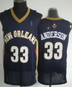 Wholesale Cheap New Orleans Pelicans #33 Ryan Anderson Navy Blue Swingman Jersey