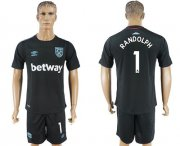 Wholesale Cheap West Ham United #1 Randolph Away Soccer Club Jersey
