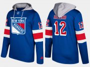 Wholesale Cheap Rangers #12 Peter Holland Blue Name And Number Hoodie