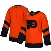 Wholesale Cheap Adidas Flyers Blank Orange 2019 NHL Stadium Series Authentic Jersey