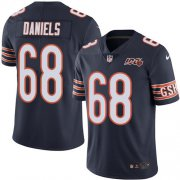 Wholesale Cheap Nike Bears #68 James Daniels Navy Blue Team Color Men's 100th Season Stitched NFL Vapor Untouchable Limited Jersey