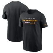 Wholesale Cheap Washington Redskins Football Team Nike Team Property Of Essential T-Shirt Black