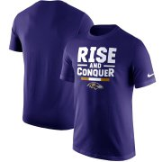 Wholesale Cheap Baltimore Ravens Nike Local Verbiage T-Shirt Purple