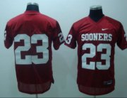 Wholesale Cheap Oklahoma Sooners #23 Red Jersey