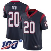Wholesale Cheap Nike Texans #20 Justin Reid Navy Blue Team Color Men's Stitched NFL 100th Season Vapor Limited Jersey