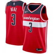 Wholesale Cheap Nike Washington Wizard #3 Bradley Beal Red Nike Swingman Jersey