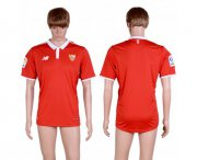 Wholesale Cheap Sevilla Blank Away Soccer Club Jersey