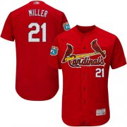 Wholesale Cheap Cardinals #21 Andrew Miller Red Flexbase Authentic Collection Stitched MLB Jersey