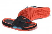 Wholesale Cheap Women's Jordan Hydro 7 Shoes Black/red-blue