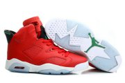 Wholesale Cheap Air Jordan 6 History of Jordan Shoes Fire red/black-green