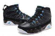 Wholesale Cheap Air Jordan IX Shoes Black/Blue