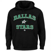 Wholesale Cheap Dallas Stars Majestic Heart & Soul Hoodie Black