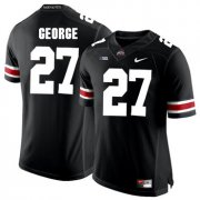 Wholesale Cheap Ohio State Buckeyes 27 Eddie George Black College Football Jersey