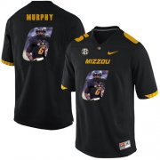 Wholesale Cheap Missouri Tigers 6 Marcus Murphy III Black Nike Fashion College Football Jersey