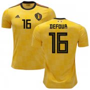 Wholesale Cheap Belgium #16 Defour Away Soccer Country Jersey