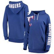 Wholesale Cheap Texas Rangers G-III 4Her by Carl Banks Women's 12th Inning Pullover Hoodie Royal