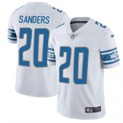 Wholesale Cheap Nike Lions #20 Barry Sanders White Youth Stitched NFL Vapor Untouchable Limited Jersey