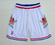 Wholesale Cheap 1992 All-Star White Hardwood Classics Swingman Shorts