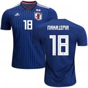 Wholesale Cheap Japan #18 Nakajima Home Soccer Country Jersey