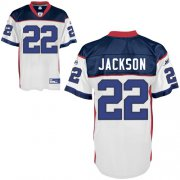 Wholesale Cheap Bills #22 Fred Jackson White Stitched NFL Jersey