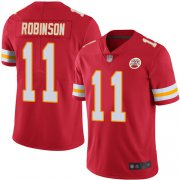 Wholesale Cheap Nike Chiefs #11 Demarcus Robinson Red Team Color Youth Stitched NFL Vapor Untouchable Limited Jersey