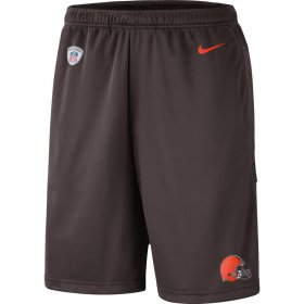 Wholesale Cheap Cleveland Browns Nike Sideline Coaches Shorts Brown