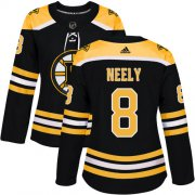 Wholesale Cheap Adidas Bruins #8 Cam Neely Black Home Authentic Women's Stitched NHL Jersey