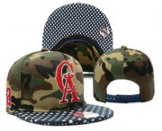Wholesale Cheap MLB Los Angeles Angels of Anaheim Snapback Ajustable Cap Hat YD 3