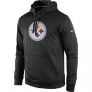 Wholesale Cheap Pittsburgh Steelers Nike Practice Performance Pullover Hoodie Black