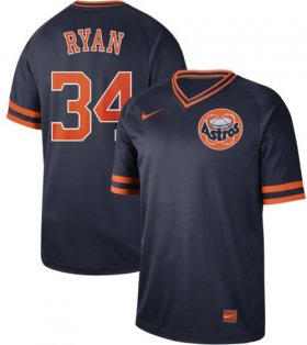 Wholesale Cheap Nike Astros #34 Nolan Ryan Navy Authentic Cooperstown Collection Stitched MLB Jersey