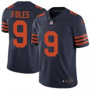 Wholesale Cheap Nike Bears #9 Nick Foles Navy Blue Alternate Youth Stitched NFL Vapor Untouchable Limited Jersey