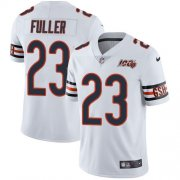 Wholesale Cheap Nike Bears #23 Kyle Fuller White Men's 100th Season Stitched NFL Vapor Untouchable Limited Jersey