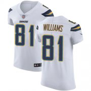 Wholesale Cheap Nike Chargers #81 Mike Williams White Men's Stitched NFL Vapor Untouchable Elite Jersey