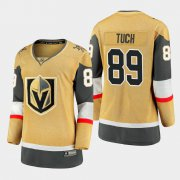 Cheap Vegas Golden Knights #89 Alex Tuch Women 2020-21 Player Alternate Stitched NHL Jersey Gold